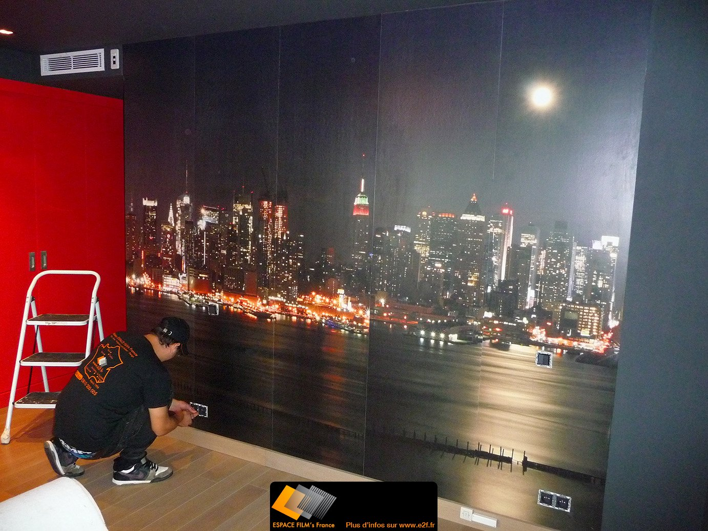 D co chambre city new york - Decoration chambre new york ...