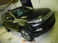Magnifique range rover en total covering noir mat